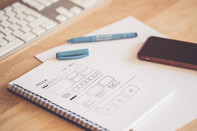 ブログ内容を書くノート